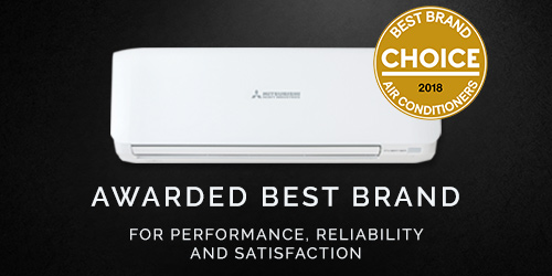 MHIAA Awarded Best Brand of Air Conditioner for 2018 by