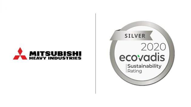 mitsubishi heavy industries ecovadis silver rating