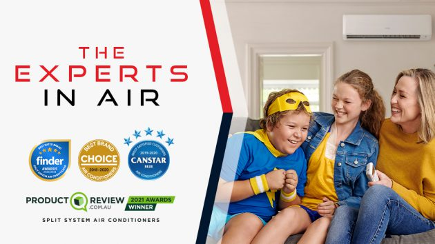 experts in air choice, canstar blue, productreview, finder award