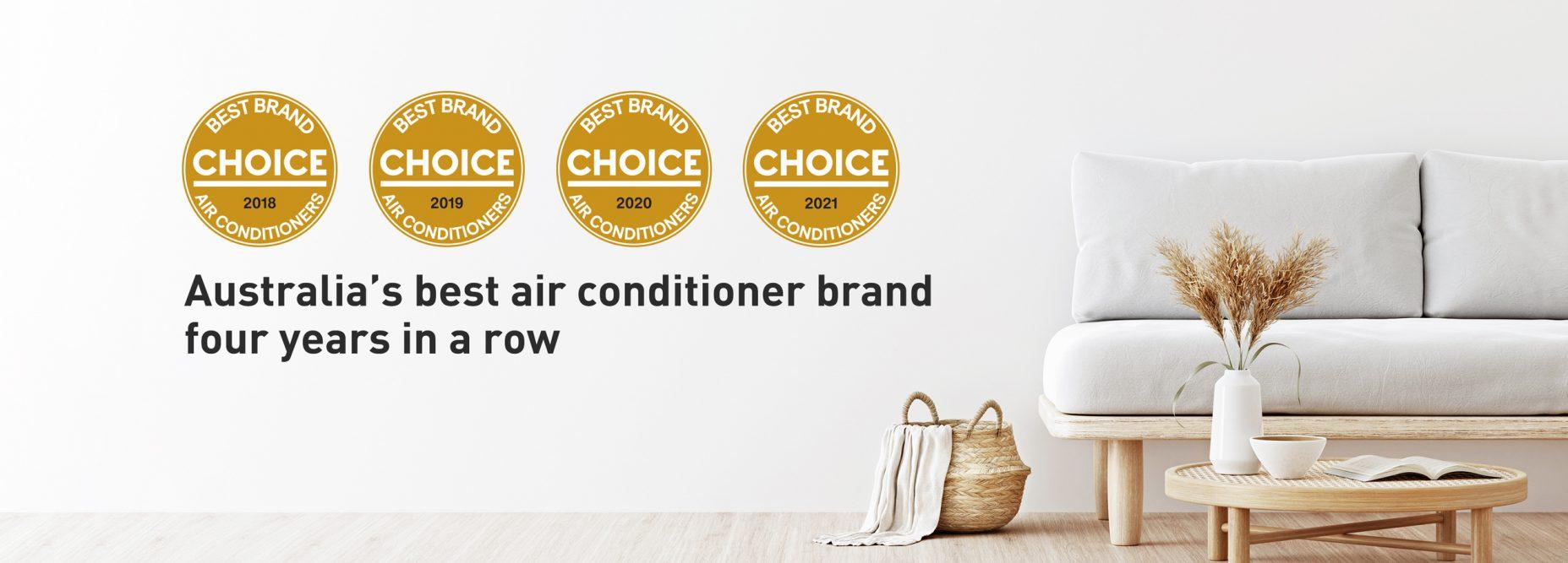 choice best brand air conditioner desktop banner