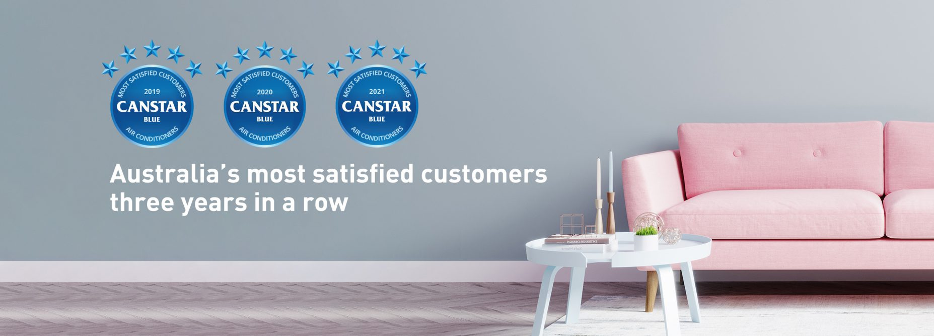 canstar blue most satisfied customer award desktop banner